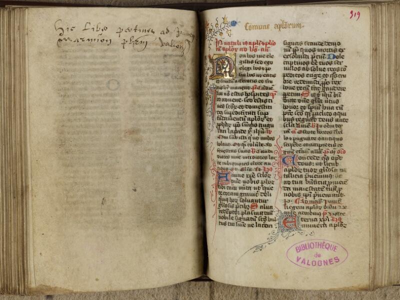 Valognes, Bibl. mun., ms. 0005, f. 318v-319