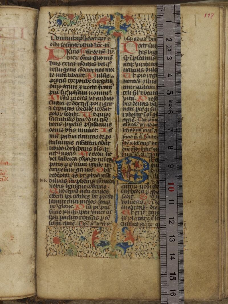 Valognes, Bibl. mun., ms. 0006, f. 128 - vue 1