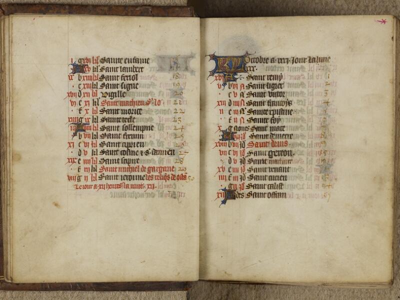 Valognes, Bibl. mun., ms. 0008, f. 0009v-0010 - vue 2