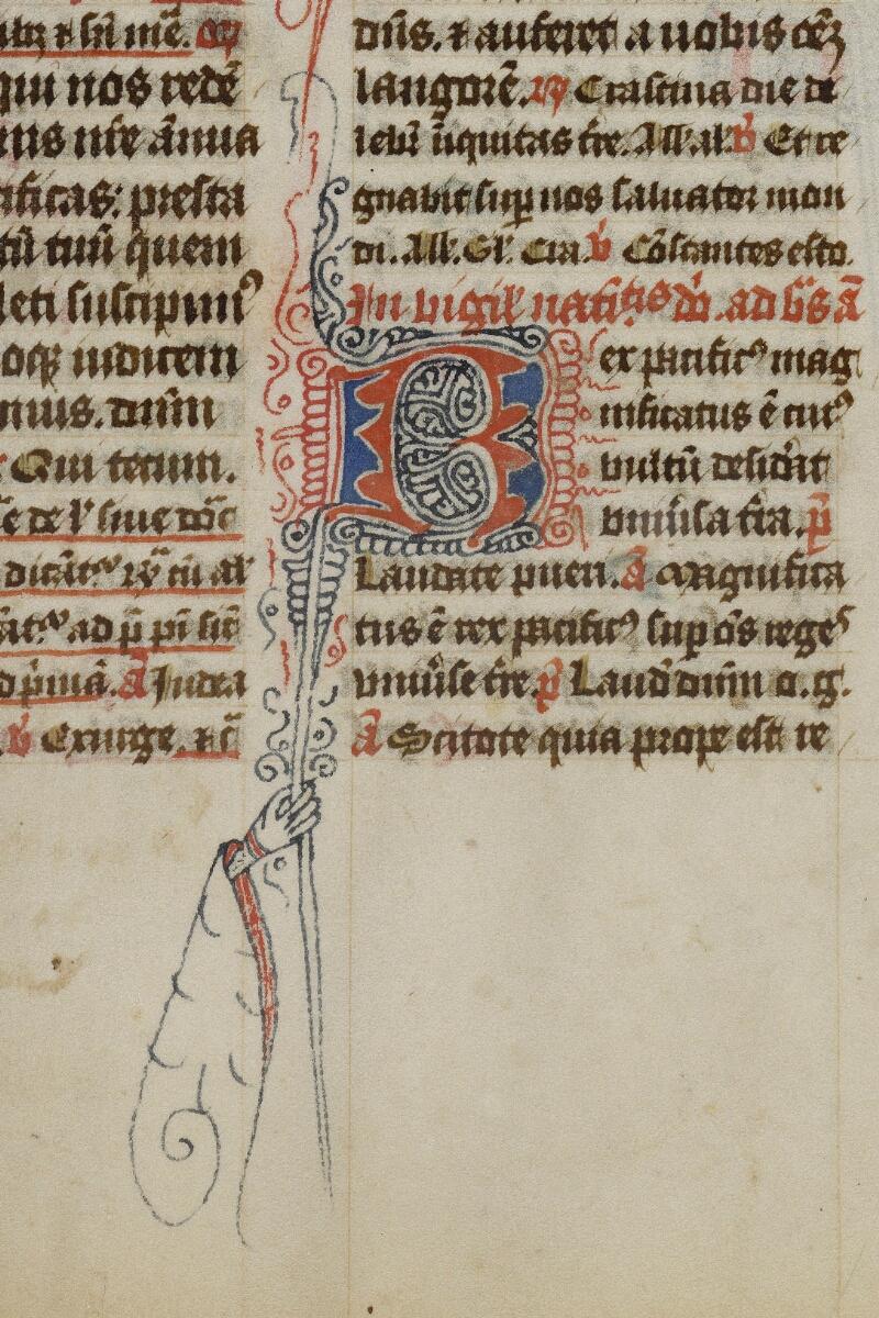 Valognes, Bibl. mun., ms. 0004, f. 028 - vue 2