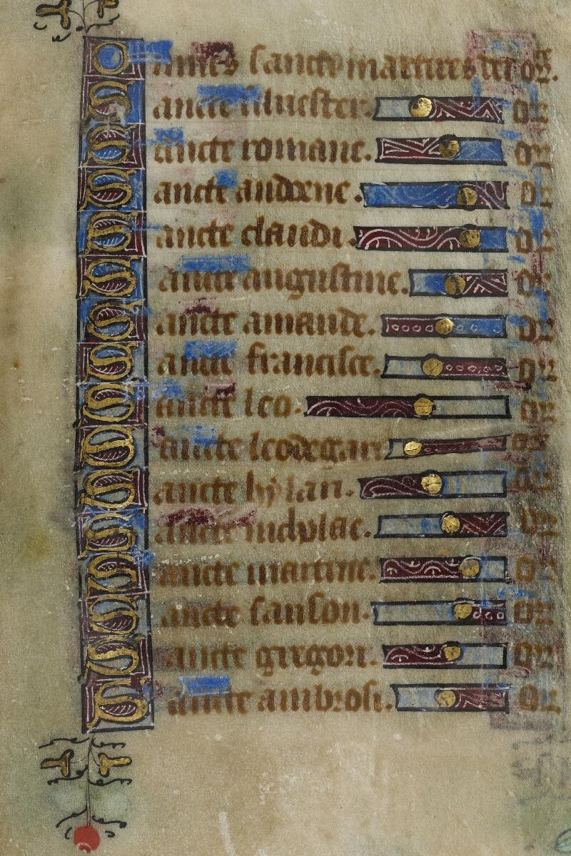 Valognes, Bibl. mun., ms. 0011, f. 060 - vue 2
