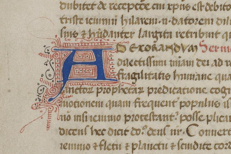 Valognes, Bibl. mun., ms. 0018, f. 001v - vue 3