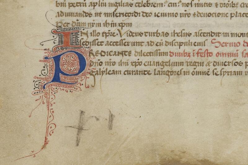 Valognes, Bibl. mun., ms. 0018, f. 007v - vue 2