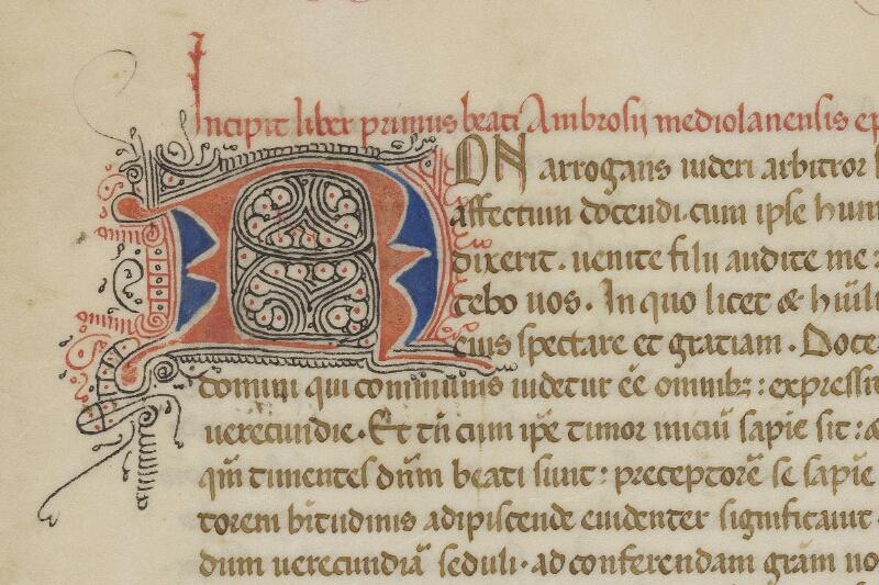 Valognes, Bibl. mun., ms. 0018, f. 011 - vue 2