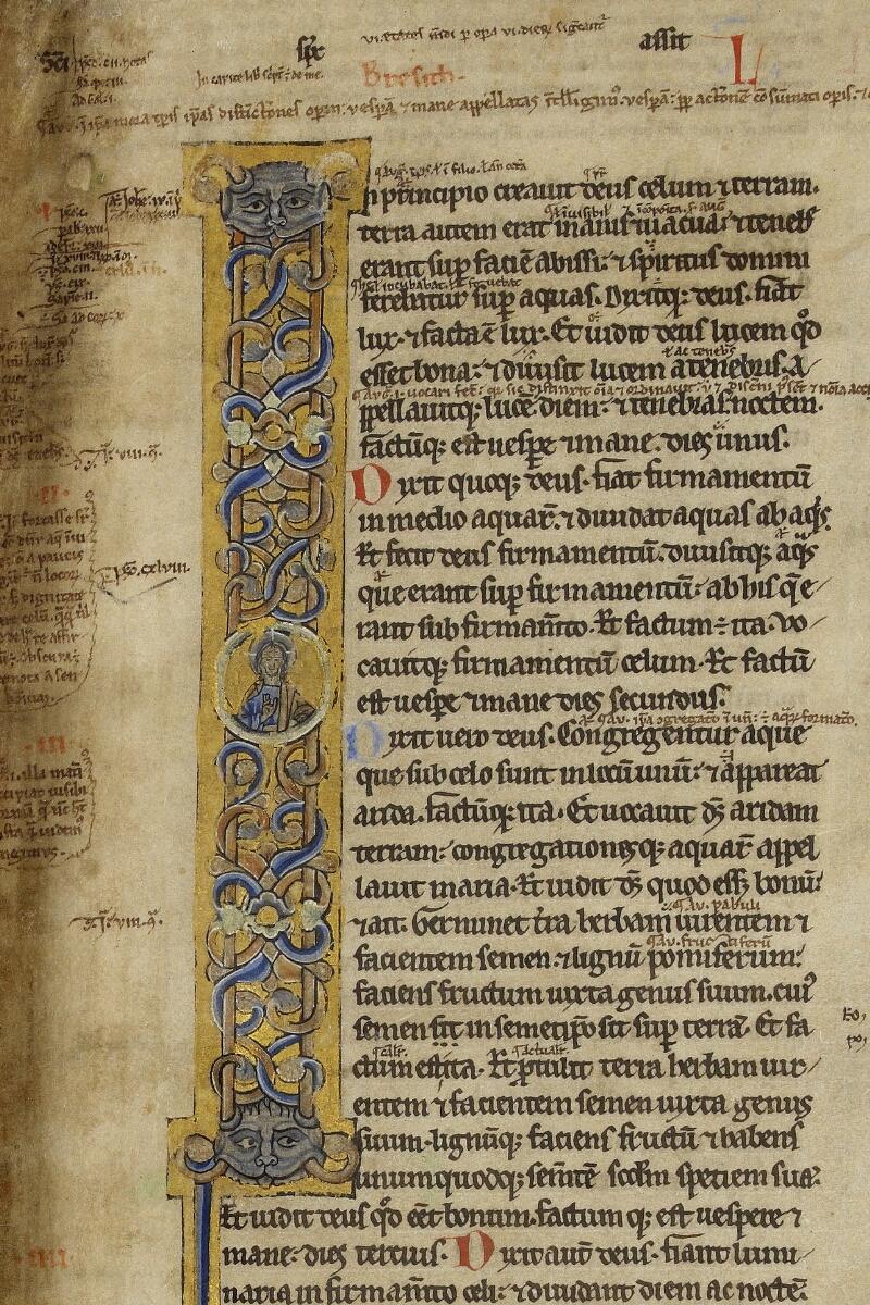 Valognes, Bibl. mun., ms. 0002, f. 001 - vue 2