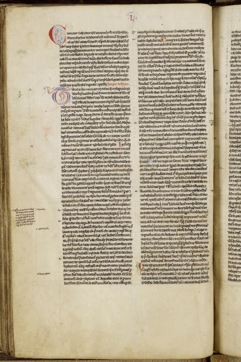 Valognes, Bibl. mun., ms. 0002, f. 098v - vue 1