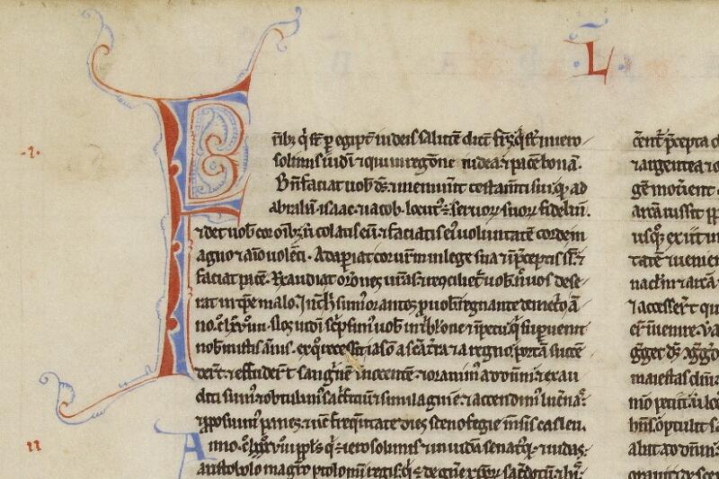 Valognes, Bibl. mun., ms. 0002, f. 111v - vue 2