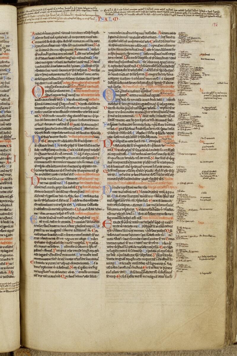Valognes, Bibl. mun., ms. 0002, f. 124 - vue 1