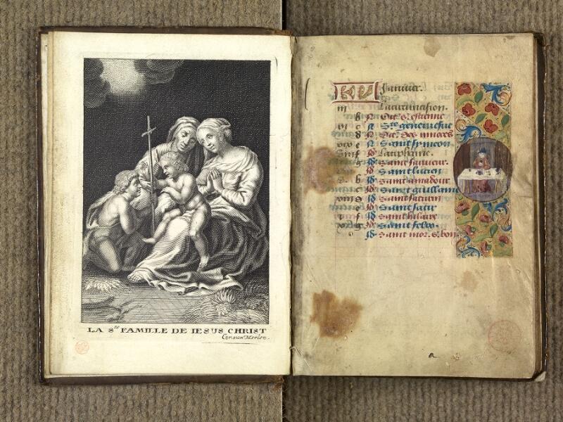 VERSAILLES, Bibliothèque municipale, 1686 (139 M), f. 000Av - 001