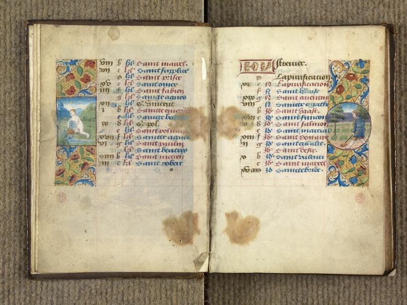 VERSAILLES, Bibliothèque municipale, 1686 (139 M), f. 001v - 002