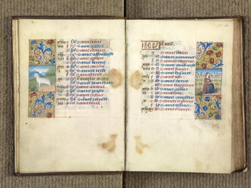 VERSAILLES, Bibliothèque municipale, 1686 (139 M), f. 003v - 004