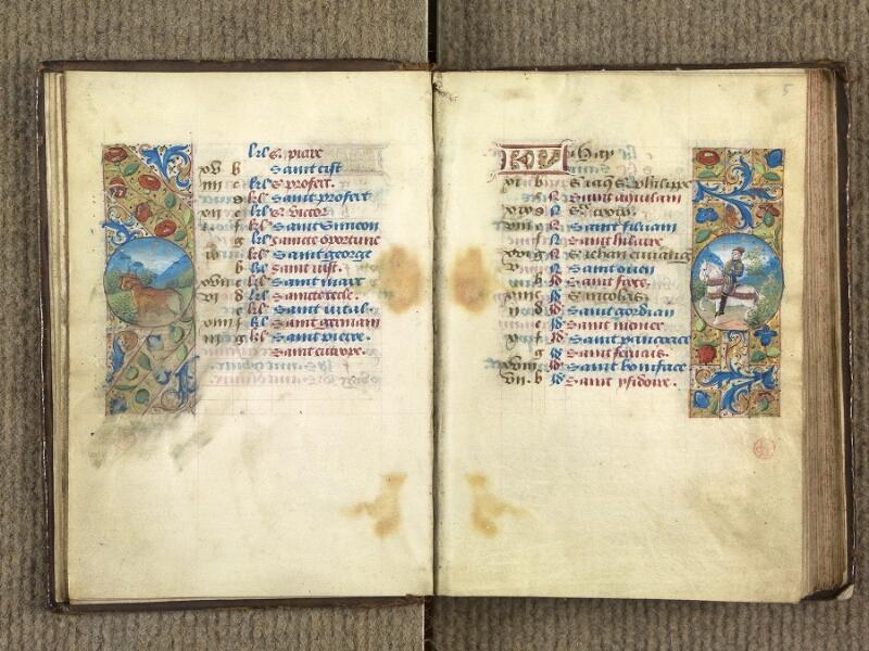 VERSAILLES, Bibliothèque municipale, 1686 (139 M), f. 004v - 005