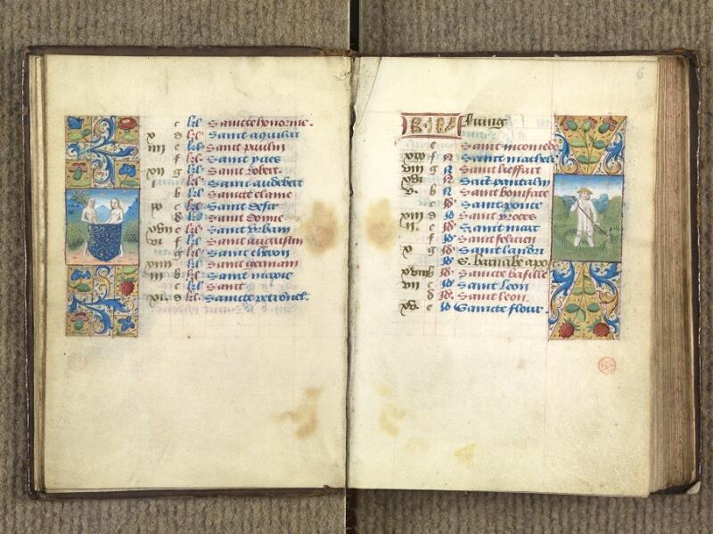 VERSAILLES, Bibliothèque municipale, 1686 (139 M), f. 005v - 006