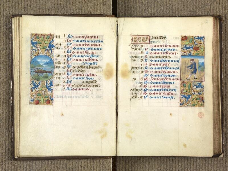 VERSAILLES, Bibliothèque municipale, 1686 (139 M), f. 006v - 007