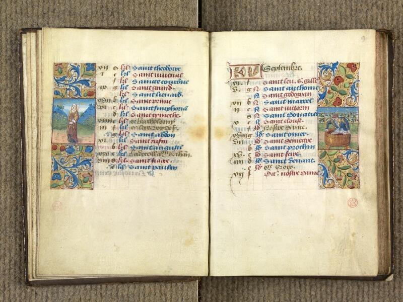 VERSAILLES, Bibliothèque municipale, 1686 (139 M), f. 008v - 009