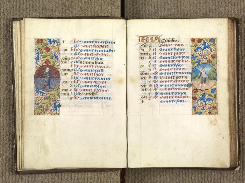 VERSAILLES, Bibliothèque municipale, 1686 (139 M), f. 009v - 010