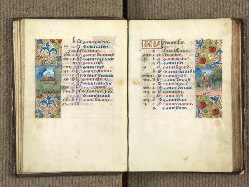 VERSAILLES, Bibliothèque municipale, 1686 (139 M), f. 010v - 011