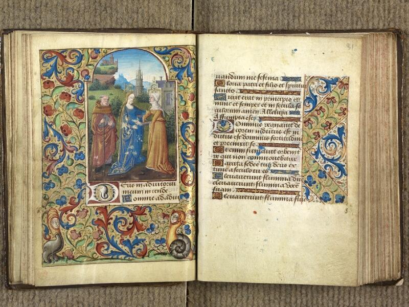 VERSAILLES, Bibliothèque municipale, 1686 (139 M), f. 030v - 031