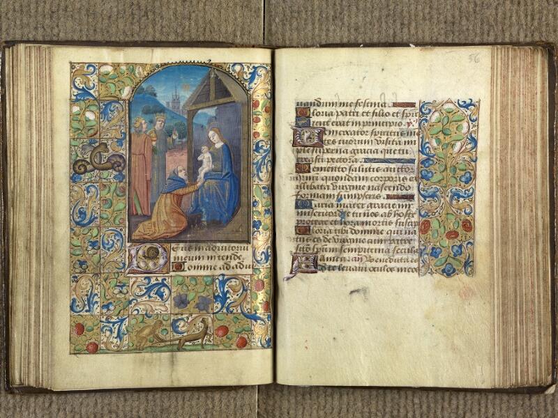 VERSAILLES, Bibliothèque municipale, 1686 (139 M), f. 055v - 056