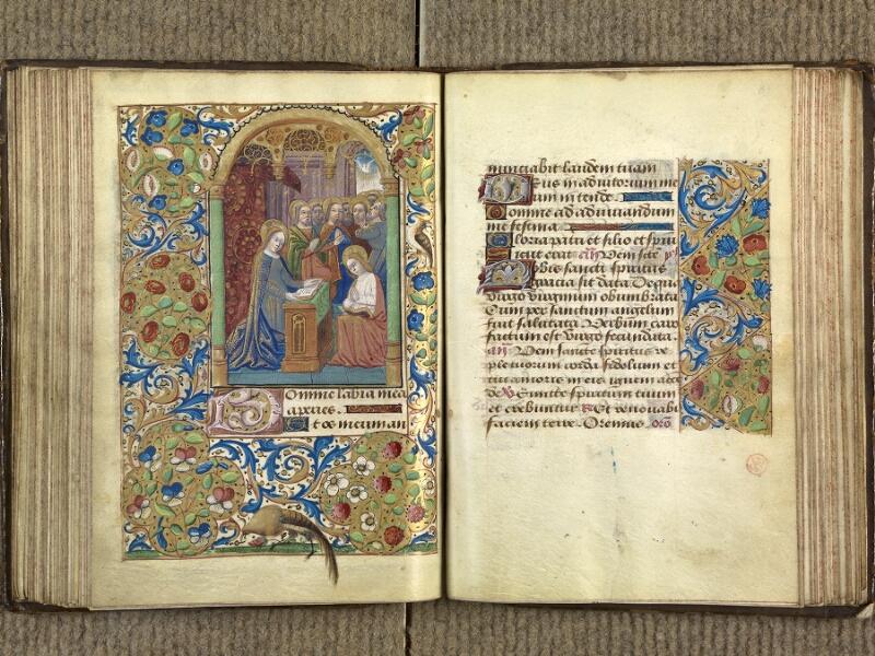 VERSAILLES, Bibliothèque municipale, 1686 (139 M), f. 090v - 091