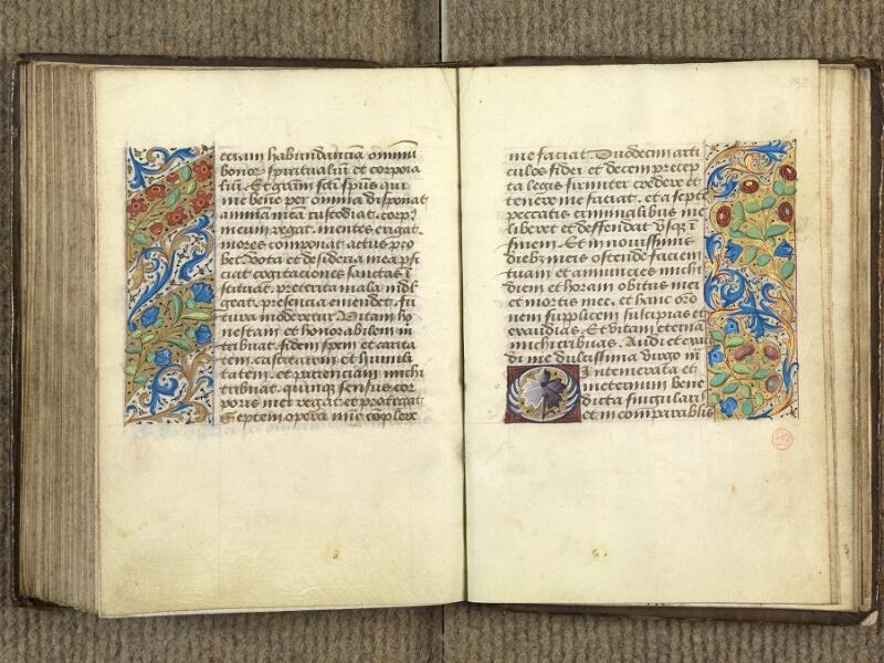 VERSAILLES, Bibliothèque municipale, 1686 (139 M), f. 134v - 135