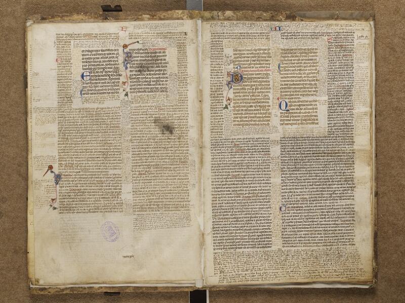 VIENNE, Bibliothèque municipale, M1, f. 012v - 025 (folio manquant)