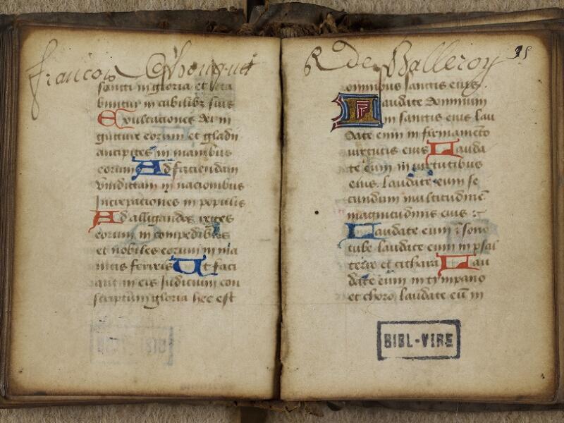 Vire, Bibl. mun., ms. 0004, f. 094v-095