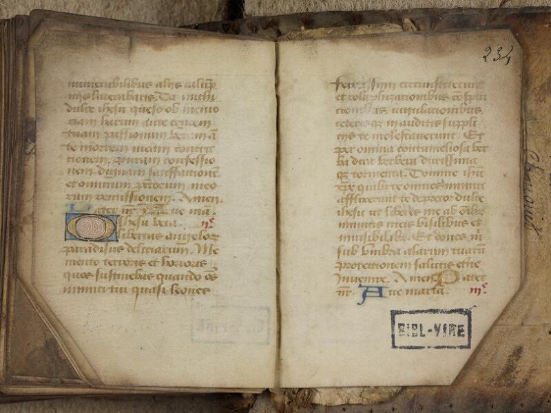 Vire, Bibl. mun., ms. 0004, f. 233v-234