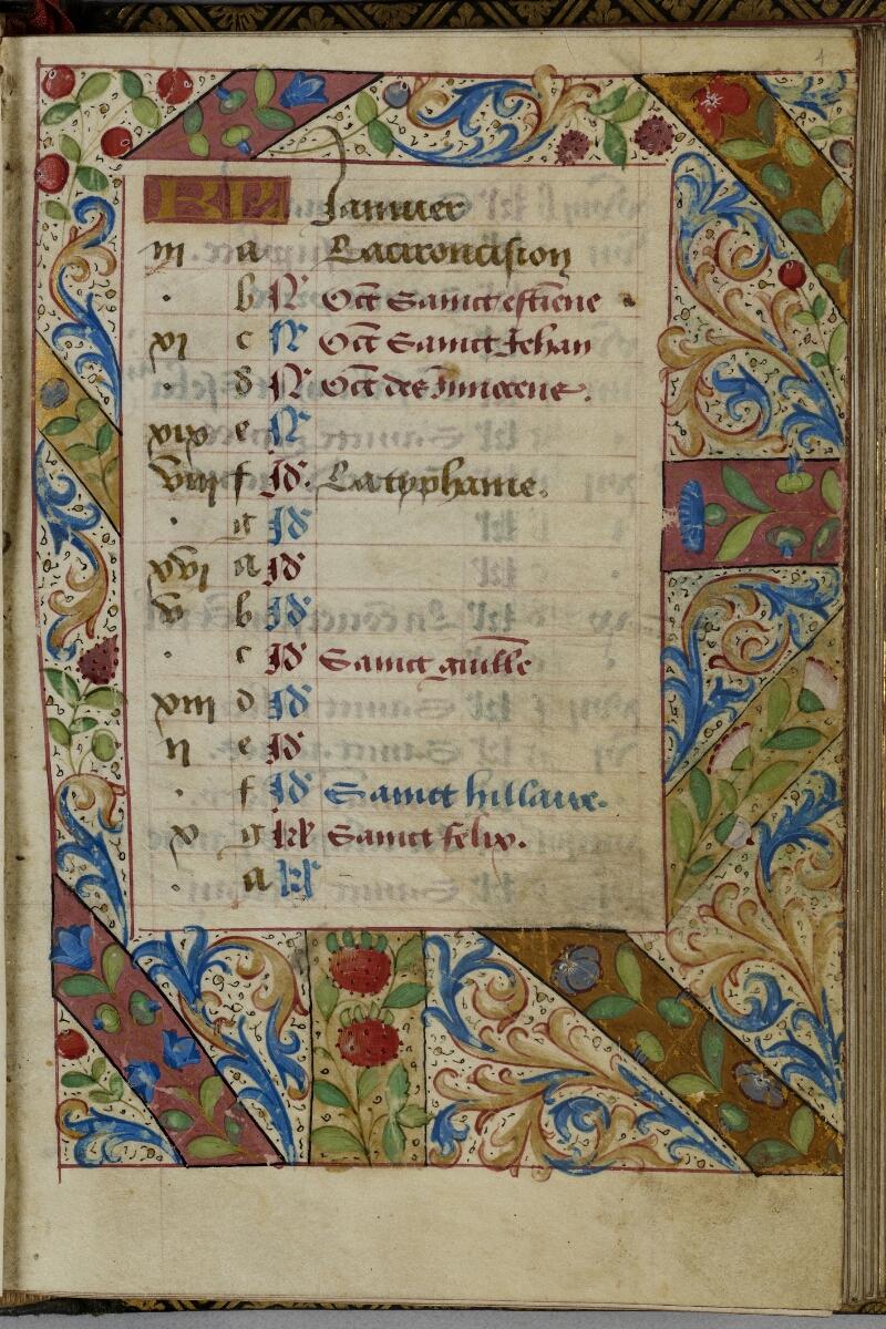 Vire, Bibl. mun., ms. A 0507, f. 001 - vue 2