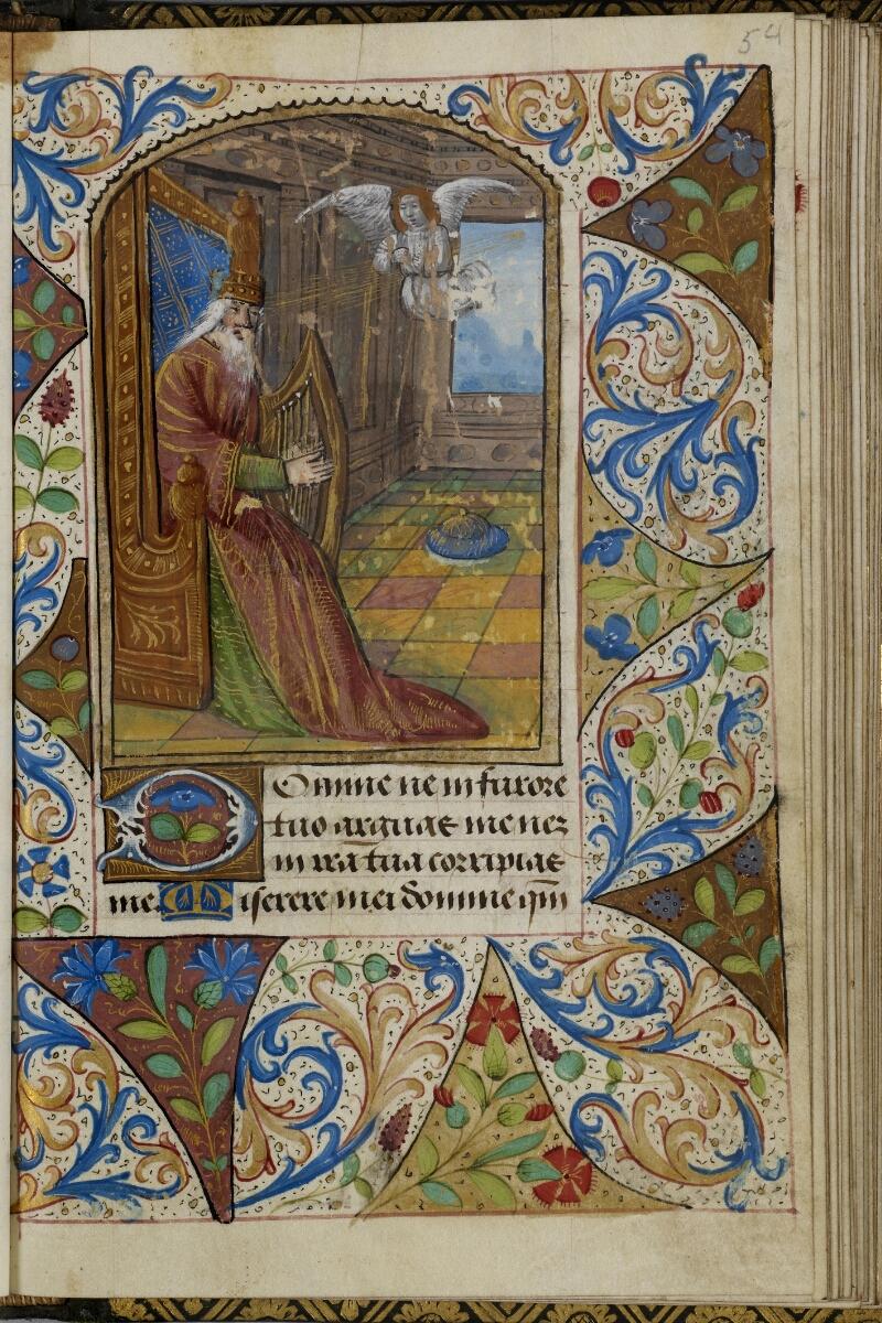 Vire, Bibl. mun., ms. A 0507, f. 054 - vue 1