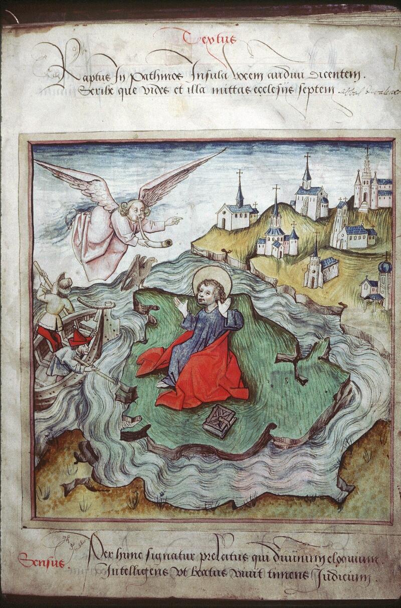 Lyon, Bibl. mun., ms. 0439, f. 002 - vue 1