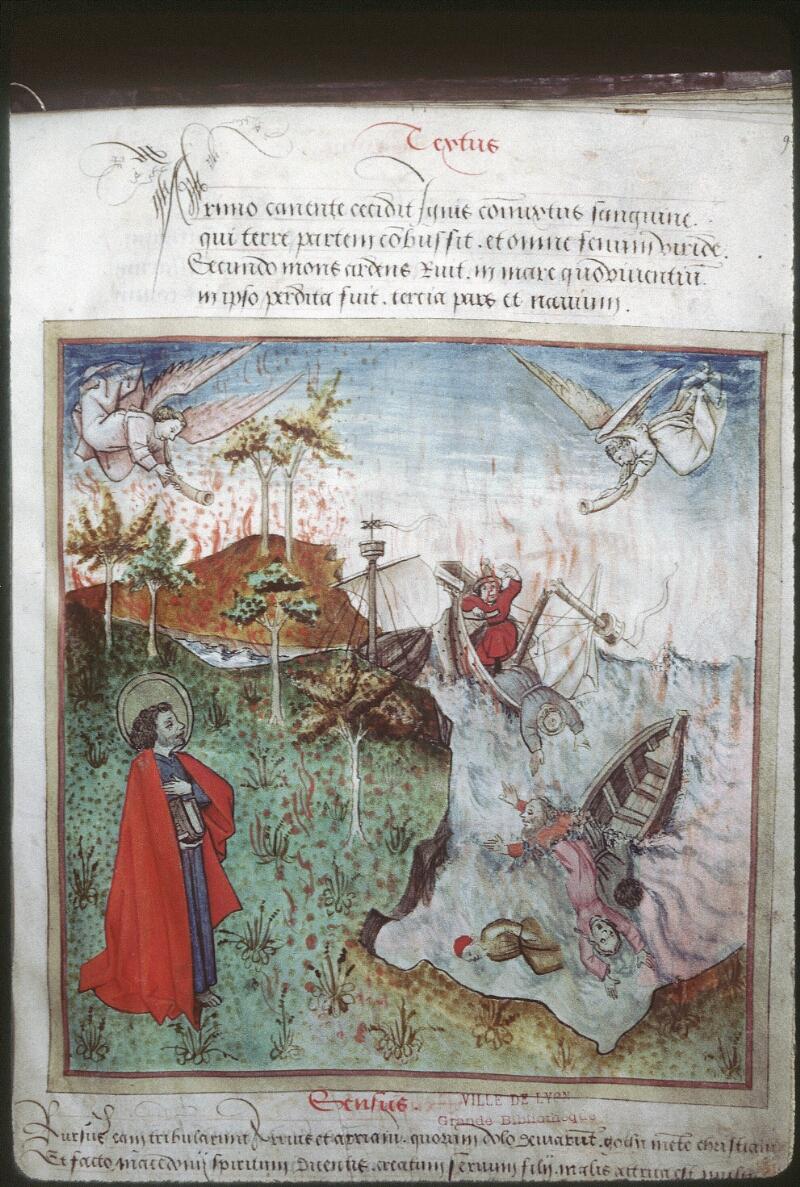 Lyon, Bibl. mun., ms. 0439, f. 009 - vue 1