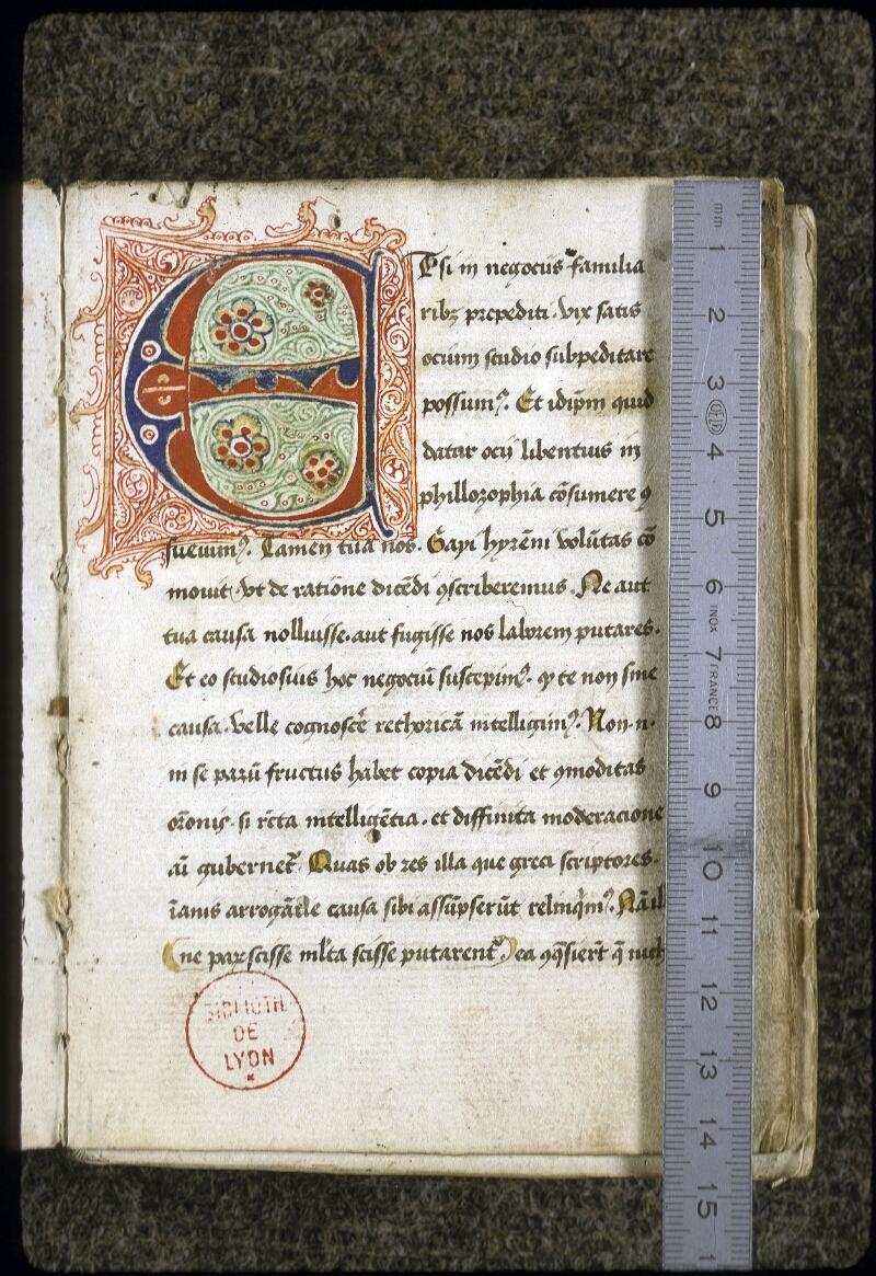 Lyon, Bibl. mun., ms. 0128, f. 002 - vue 1