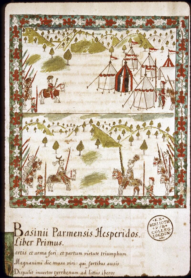 Lyon, Bibl. mun., ms. 0154, f. 001 - vue 3