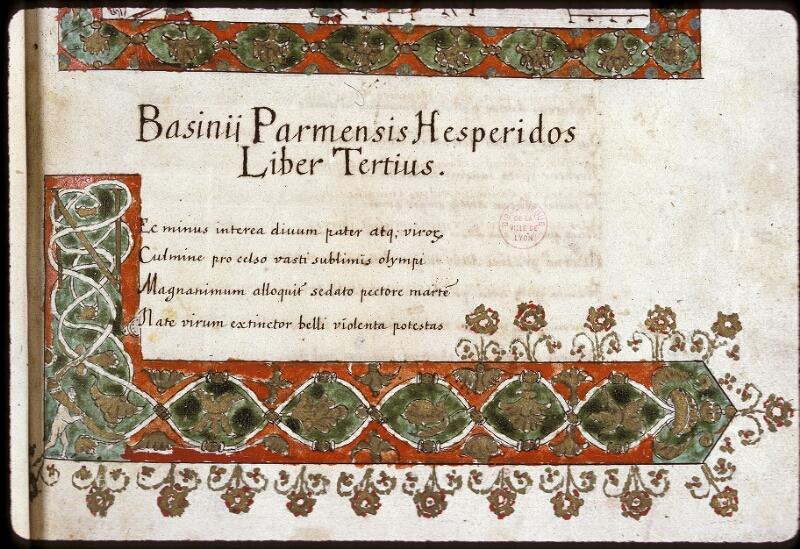 Lyon, Bibl. mun., ms. 0154, f. 026 - vue 3