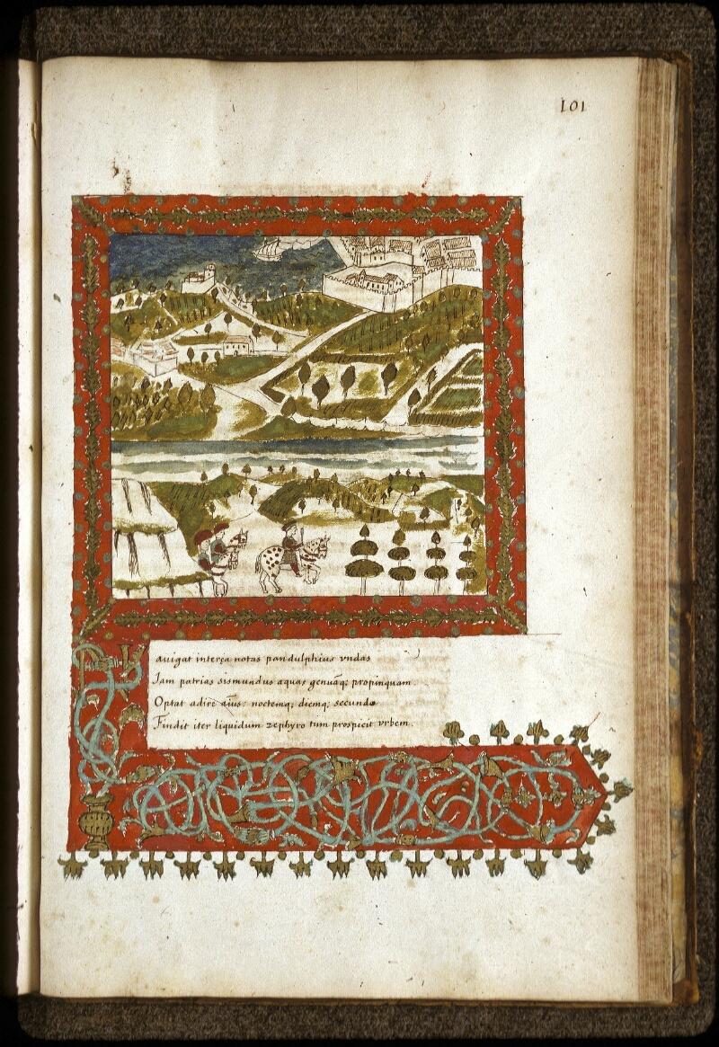 Lyon, Bibl. mun., ms. 0154, f. 101 - vue 1