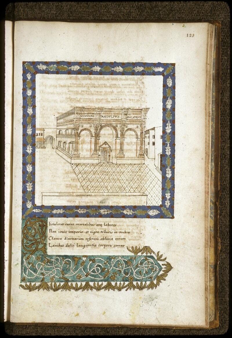 Lyon, Bibl. mun., ms. 0154, f. 125 - vue 1