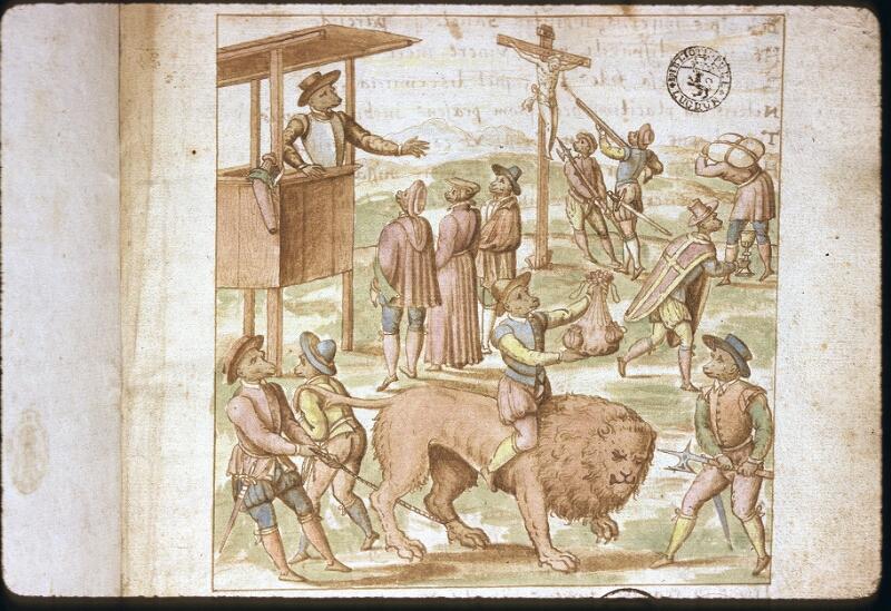 Lyon, Bibl. mun., ms. 0156, f. 001 - vue 2