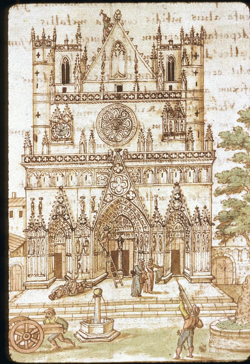 Lyon, Bibl. mun., ms. 0156, f. 003 - vue 1