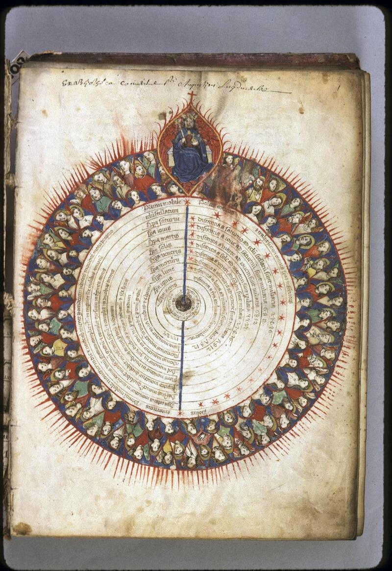 Lyon, Bibl. mun., ms. 0172, f. 001 - vue 1