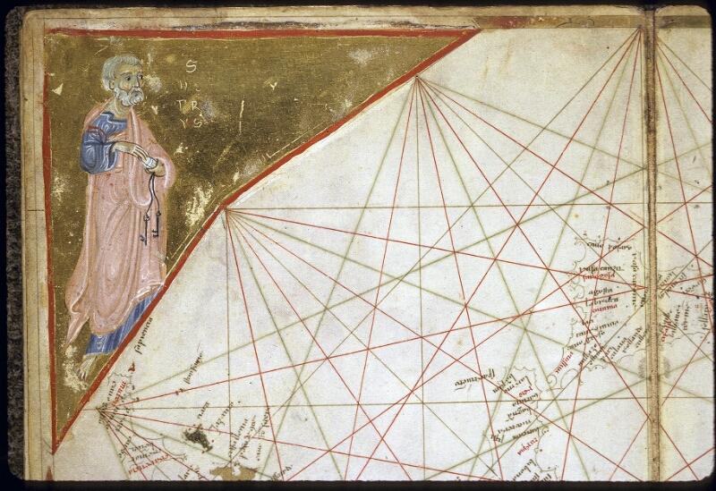 Lyon, Bibl. mun., ms. 0175, carte 9 - vue 2