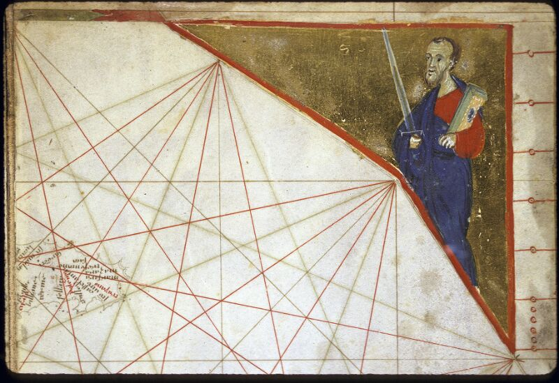 Lyon, Bibl. mun., ms. 0175, carte 9 - vue 4
