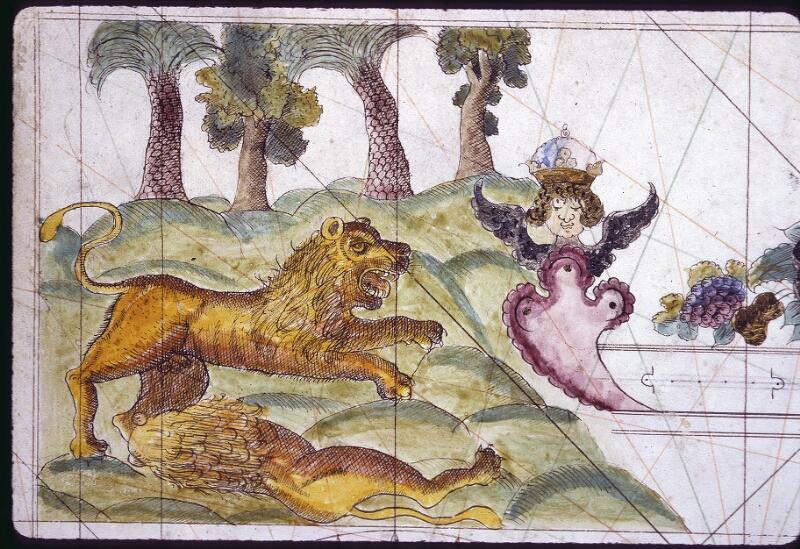 Lyon, Bibl. mun., ms. 0177, f. 002v - vue 2