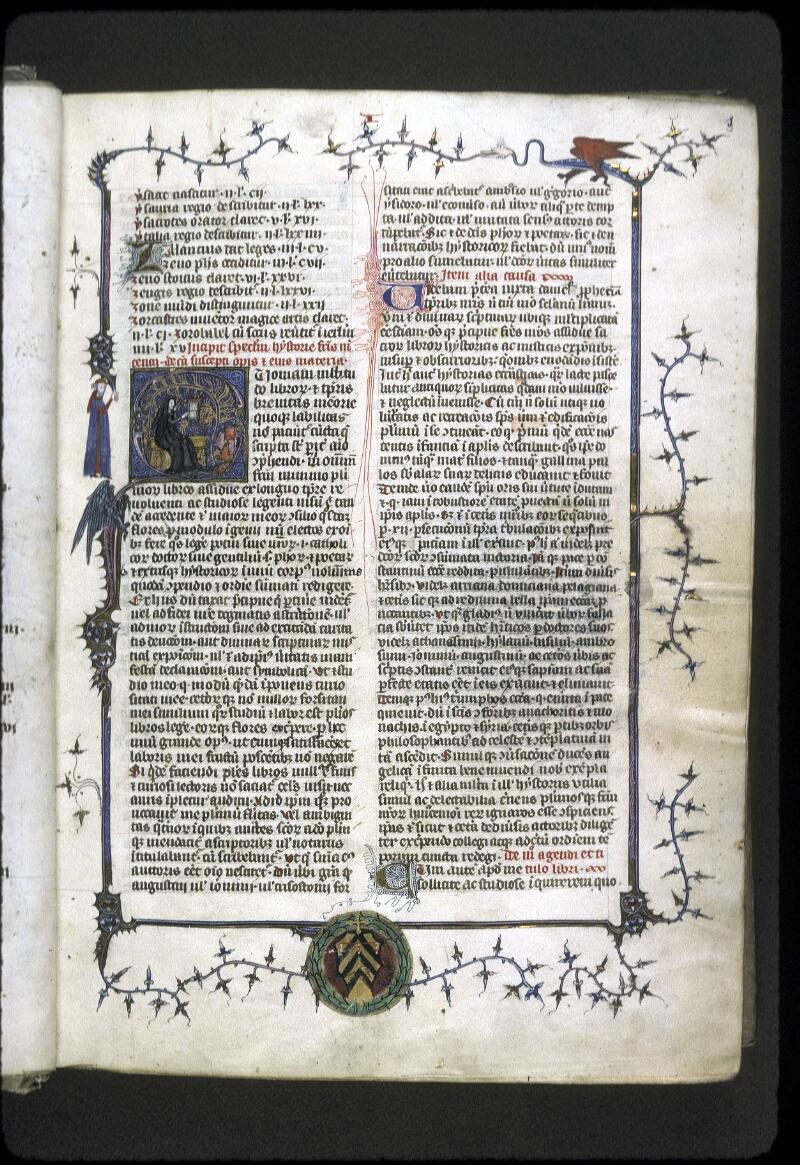 Lyon, Bibl. mun., ms. 0180, f. 003 - vue 1