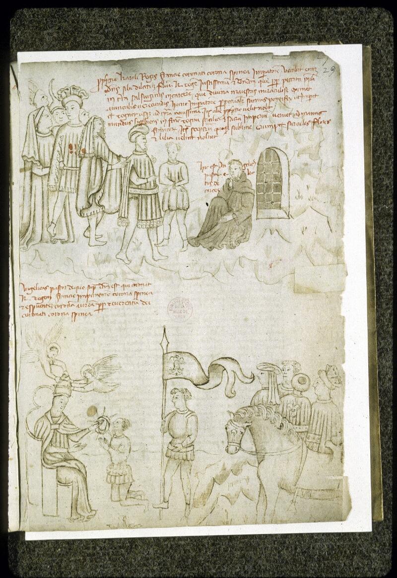 Lyon, Bibl. mun., ms. 0189, f. 029 - vue 1