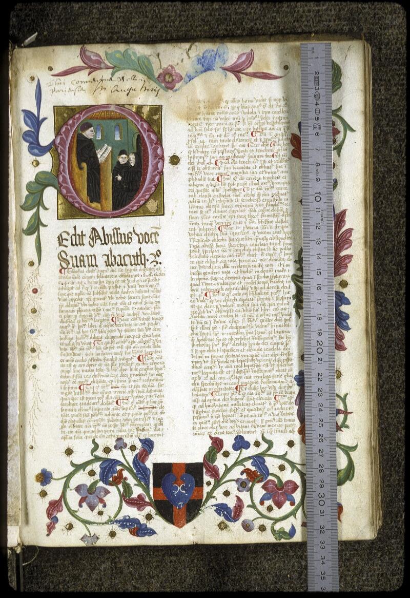 Lyon, Bibl. mun., ms. 0206, f. 001 - vue 1