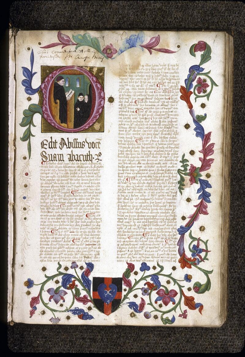Lyon, Bibl. mun., ms. 0206, f. 001 - vue 2