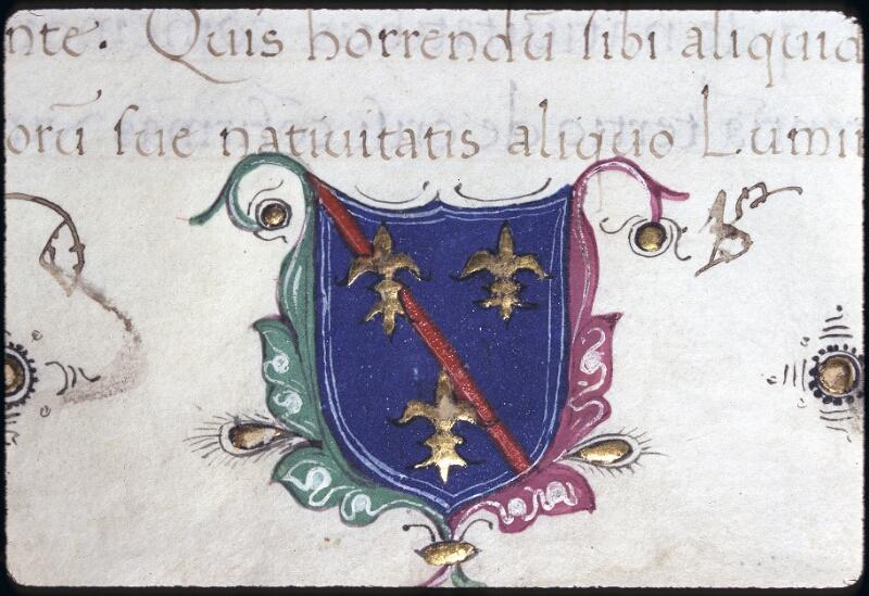 Lyon, Bibl. mun., ms. 0233, f. 001 - vue 2