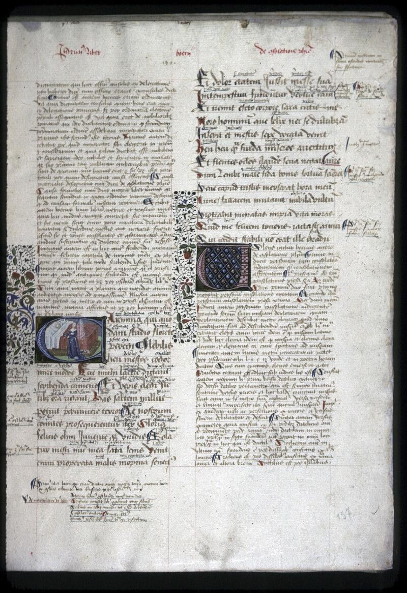Lyon, Bibl. mun., ms. 0245, f. 002 - vue 1