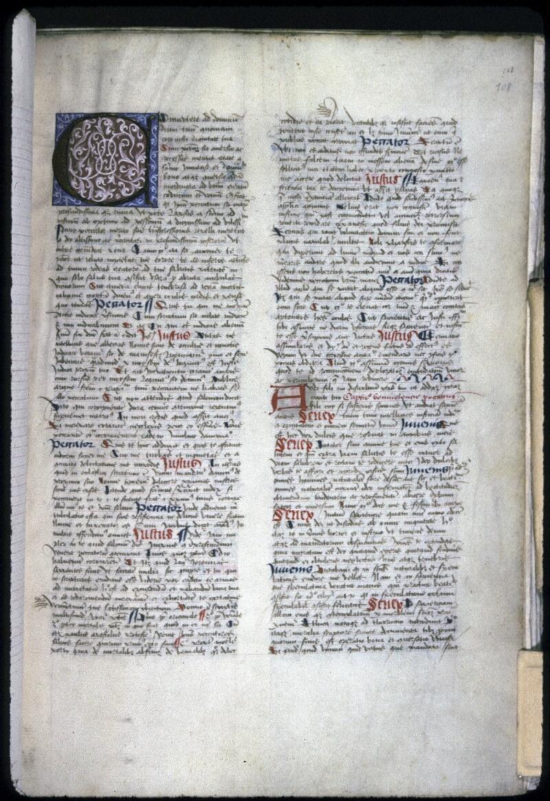 Lyon, Bibl. mun., ms. 0245, f. 108